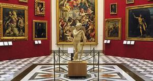 Ingresso para galera de Belas Artes em Florença